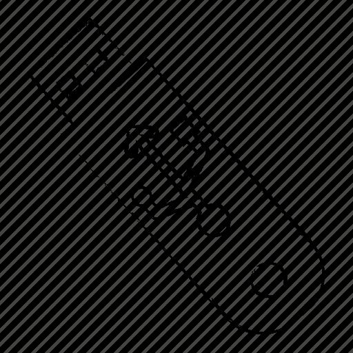 file, folder, office, usb icon