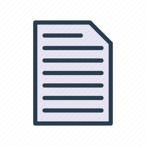 archive, document, file, page, paper icon