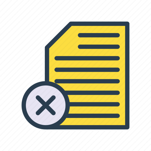 archive, delele, document, file, sheet icon
