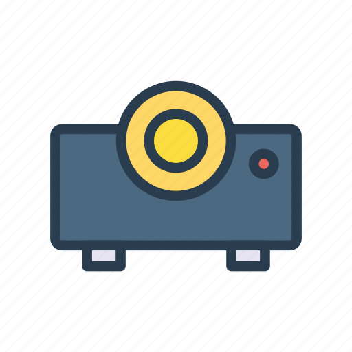 beamer, device, office, presentation, projector icon