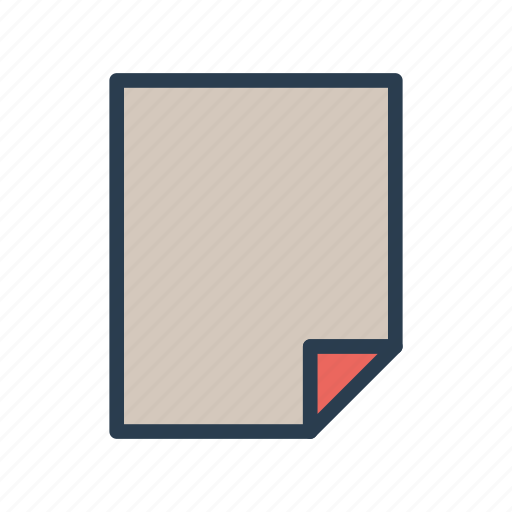 document, file, page, paper, sheet icon