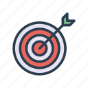achievement, dart, goal, success, target icon