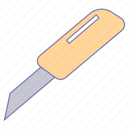 business, cutter, m, office, paper icon