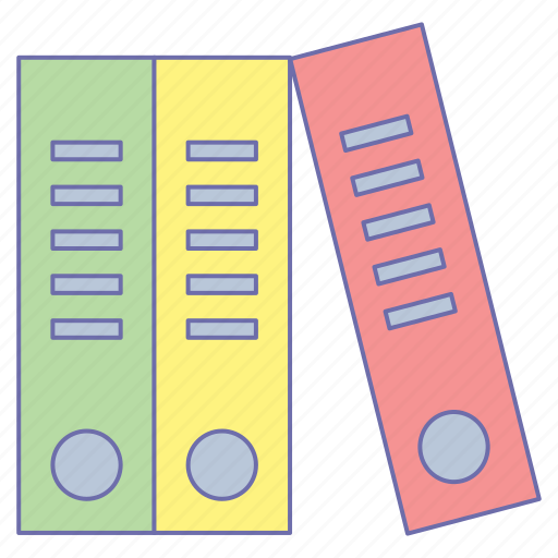 business, files, office icon