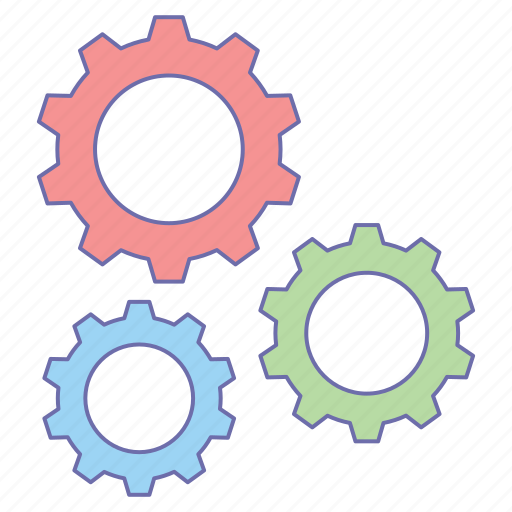 business, gear, office, setting icon