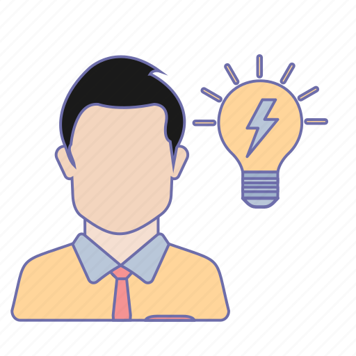 business, idea, office icon