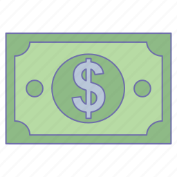 business, money, note, office icon