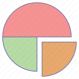 business, chart, office, pie icon