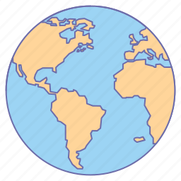 Business globe map office world icon icon search engine business globe map office world icon gumiabroncs Gallery