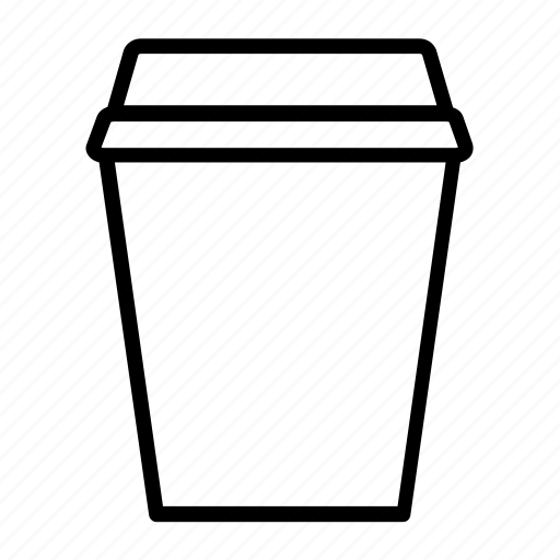 coffee, cup, papercup, take away icon