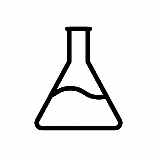 beaker, experiment, flask, lab, science icon