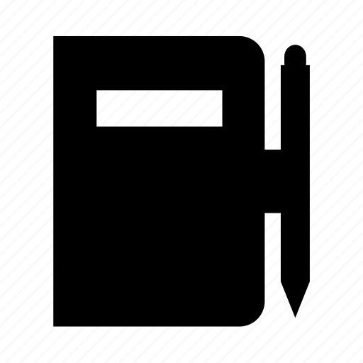 album, book, dictionary, manual, note icon