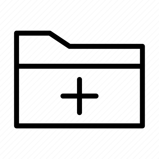 add file, add folder, document, new file, new folder icon