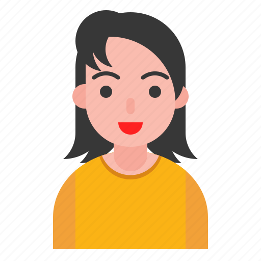 avatar, female, girl, profile, woman icon
