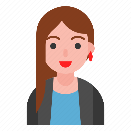 business, female, office, suit, user, woman icon