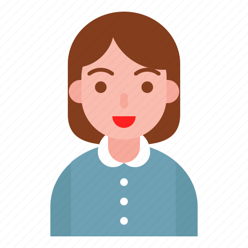 avatar, female, office, woman icon