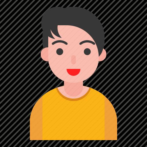 avatar, human, male, person, profile icon