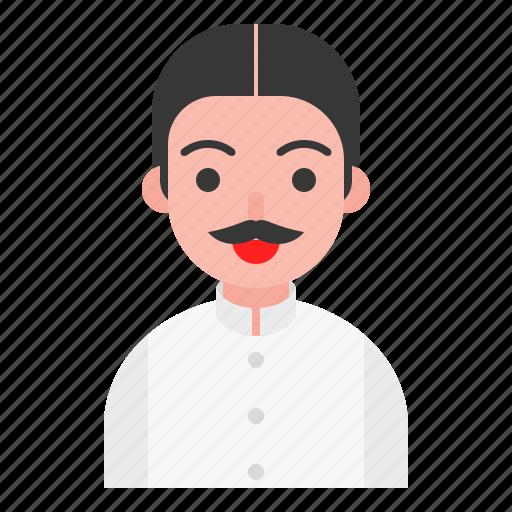 avatar, male, man, thai icon