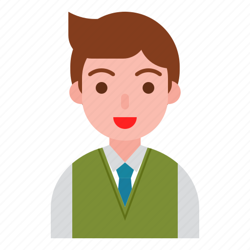 boy, business, male, man, office icon