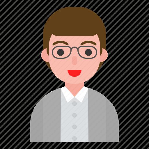 avatar, interface, male, man, user icon