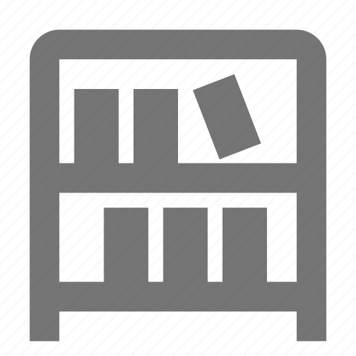 archive, book, library, shelf icon