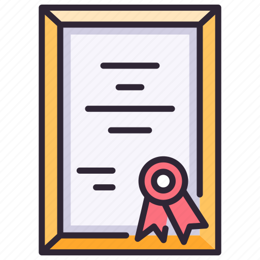 Achievement, award, certificate, diploma, document, honor, success icon - Download on Iconfinder