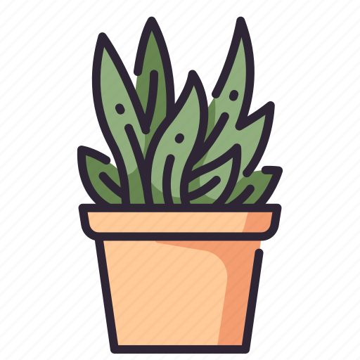 Decoration, grow, leaf, nature, plant, pot icon - Download on Iconfinder