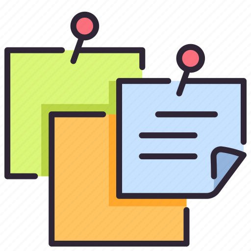 Memo, message, note, notice, page, paper, reminder icon - Download on Iconfinder