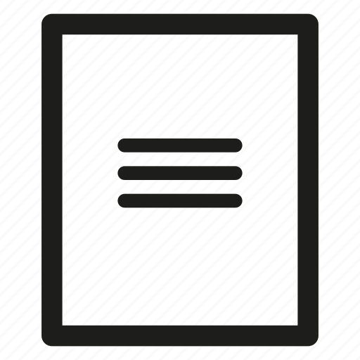 cardboard, folder icon