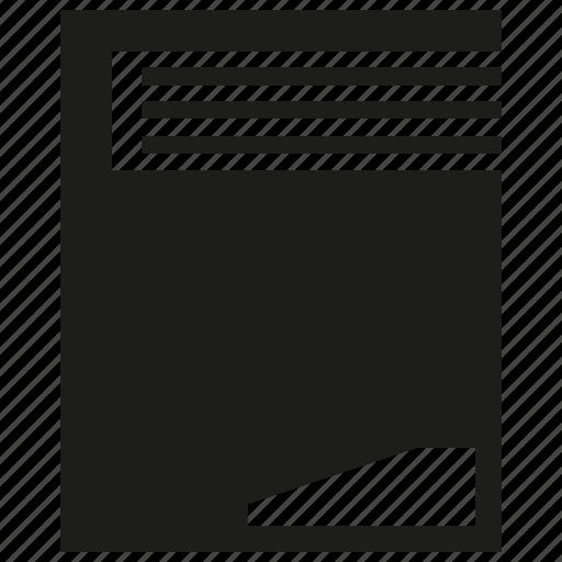 book, file, paper icon