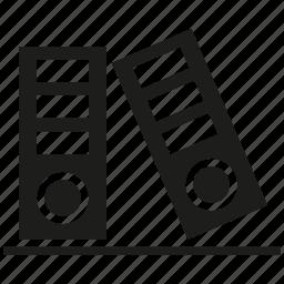book, file, folder icon