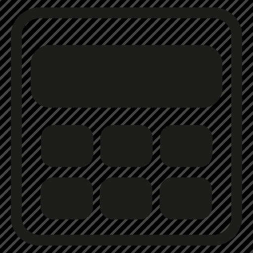 calculator, compute icon