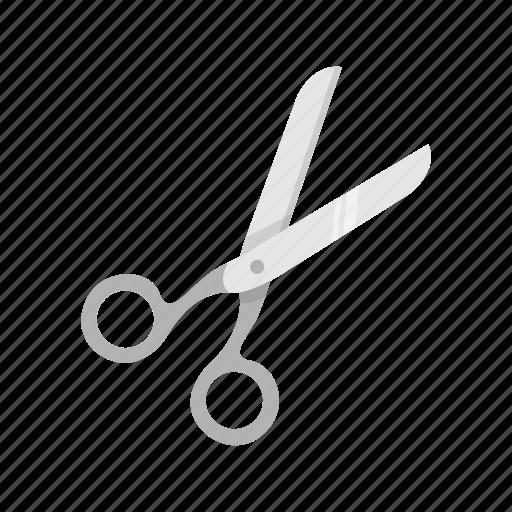 cut, paper, scissor, shred icon