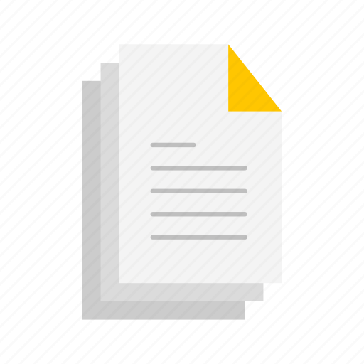 documents, notes, papers, text icon