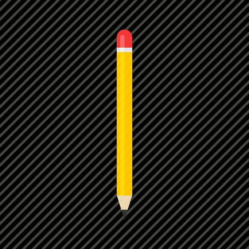 draw, pen, pencil, yellow pencil icon