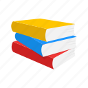 books, read, school, study icon