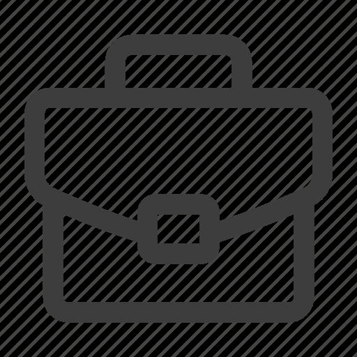 briefcase, office, portfolio, suitcase, work icon