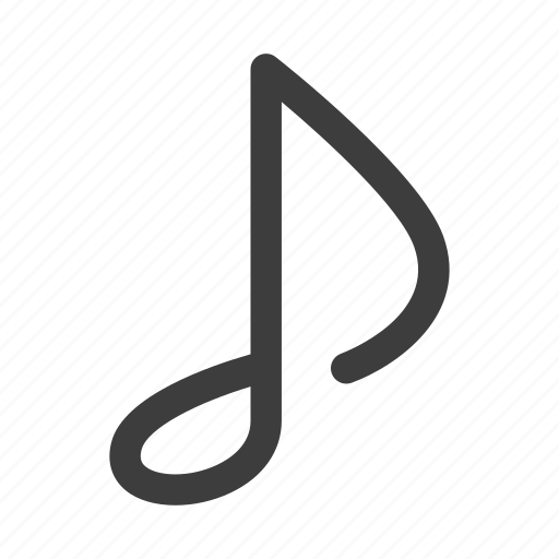 audio, music, musical, note, sound icon