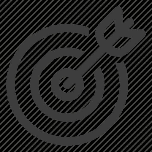 Aim, bullseye, target icon - Download on Iconfinder
