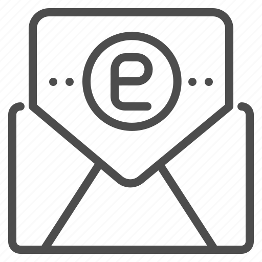 electronic, email, envelope, letter, mail, message, online icon