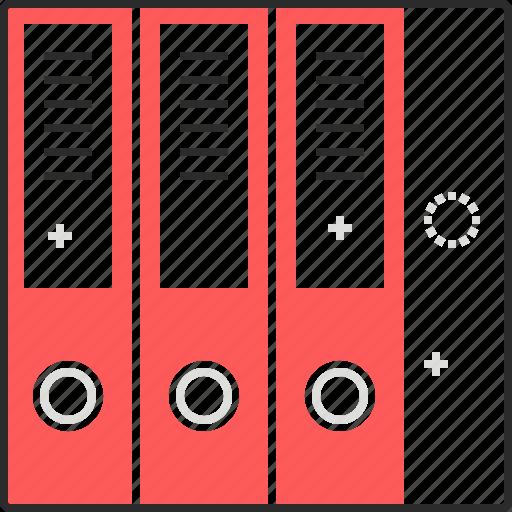 documents, folder, paper, storage icon