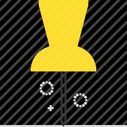 location, needle, pin icon
