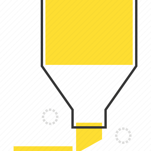 bookmark, draw, mark, marker, text icon