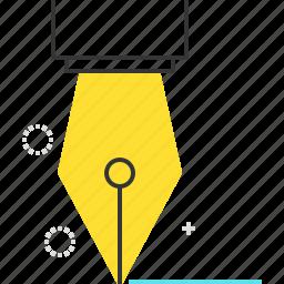 pencil, sign, write icon