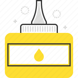 adhesive, art, glue icon