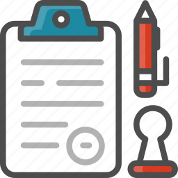 clipboard, document, file, list, pen, report icon