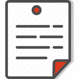 document, files, peper, sheet icon
