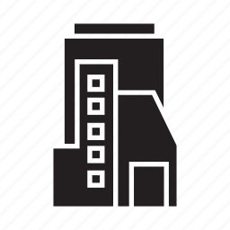 apartment, building, condominium, office, real estate, residence, tower icon
