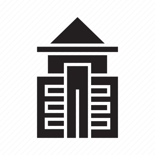 building, home, house, office, real estate, residence, tower icon