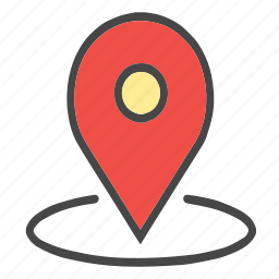 around location, check location, current location, gps, location, map pin, pin, place icon
